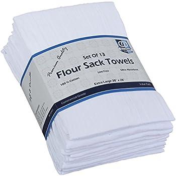 Amazon.com: Cotton Craft 12 Pack Flour Sack Kitchen Towel