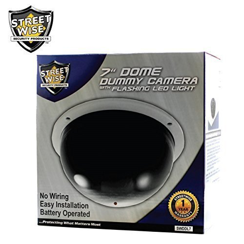 Streetwise Large Dome Dummy Camera 7'' SWDDL7