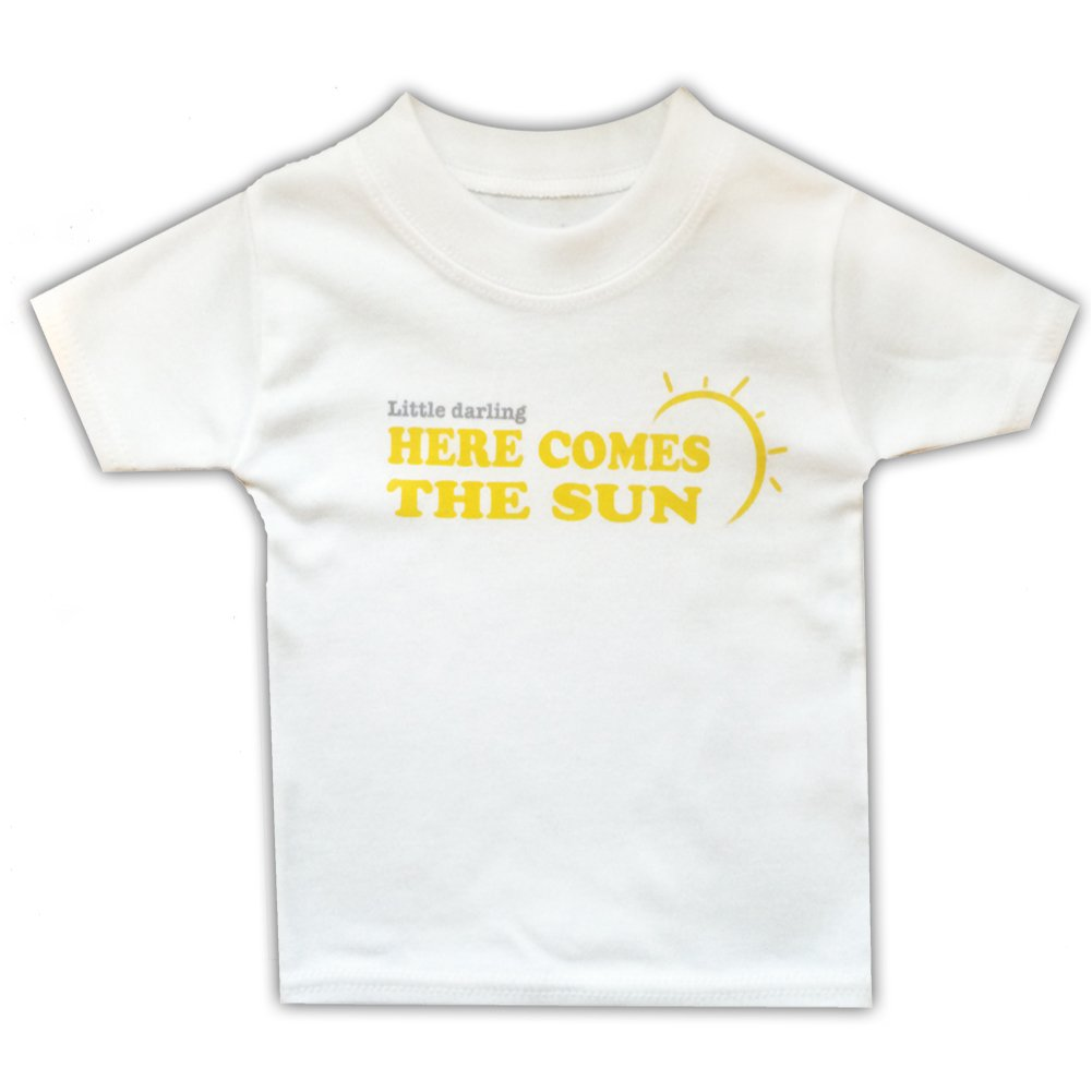 6-9 months HERE COMES THE SUN Baby T-shirts