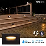 LEONLITE 120V Dimmable LED Step Light, 3.5W 3000K