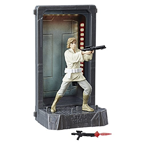 Star Wars The Black Series Titanium Series Luke Skywalker, 3.75-inch