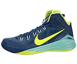 Nike Hyperdunk 2014 Mens Basketball Shoes Gym Bluehyper Turquoisevolt 11