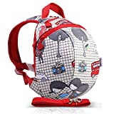 Toddler Safety Harness Mini Backpack with Tether Strap (Girl)