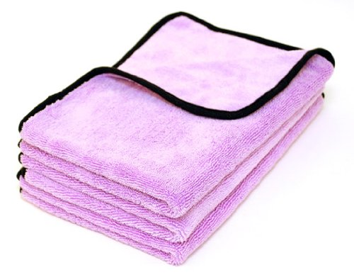 Cobra Super Plush Deluxe 600 Microfiber Towel, 16 x 24 inches - 3 pack
