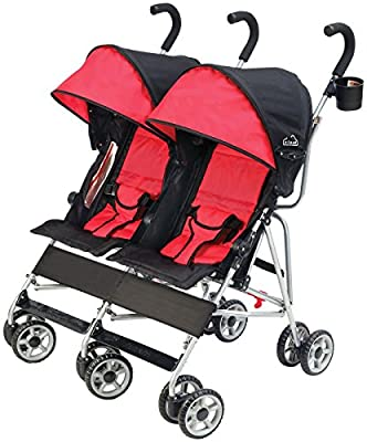 Kolcraft Cloud Side by Side Umbrella Stroller, Scarlet by Kolcraft that we recomend individually.