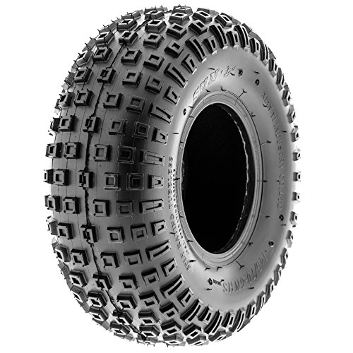 SunF 145/70-6 145/70x6 ATV UTV All Terrain Trail Replacement 6 PR Tubeless Tires A011, [Set of 2] by SUNF (Image #9)