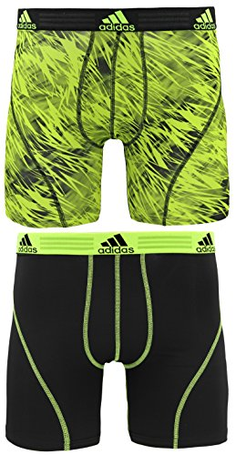 : adidas Men's Sport Performance Climalite Boxer Brief Underwear (2 or 4 Pack)