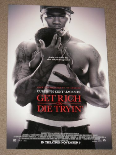 Get Rich or Die Tryin' 13.5x20 Inch D/s Promo Movie Poster