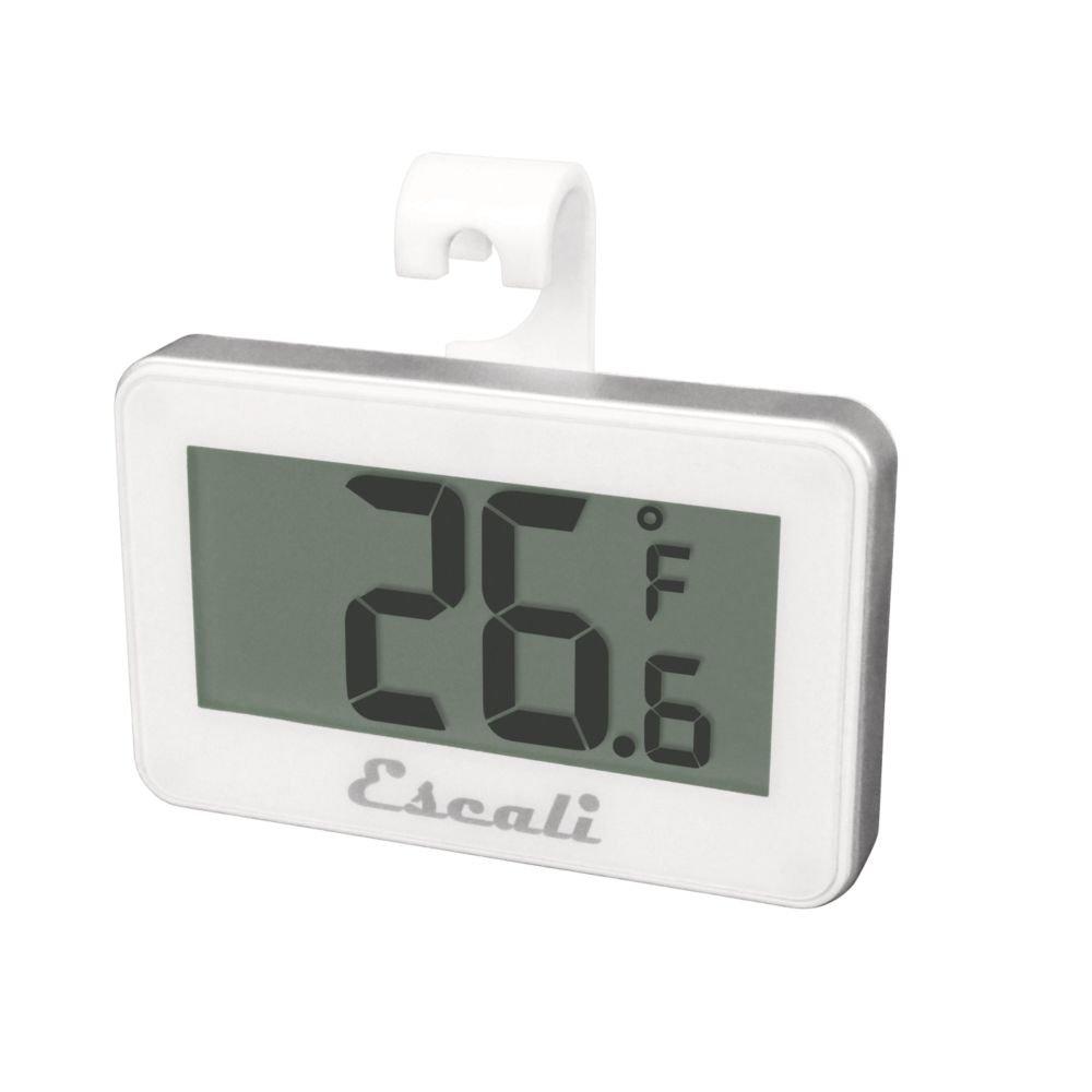 Escali DHF1 White Digital Refrigerator/Freezer Thermometer