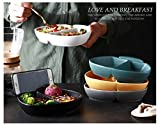 Porcelain Plate 7.7-inch Bread and Butter Plate Set