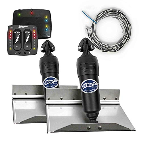 - Bennett Complete Kit Bolt Electric Trim Tab (BOLT129) w/Indication Control (BCI8000), 12