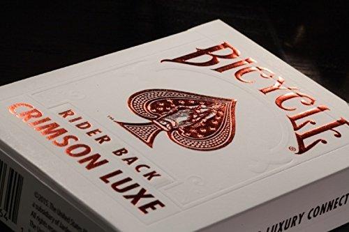 Bicycle Verso Arrière Pourpre Luxe (Rouge) par NOUS Carte À Jouer Co US Playing Card Co.