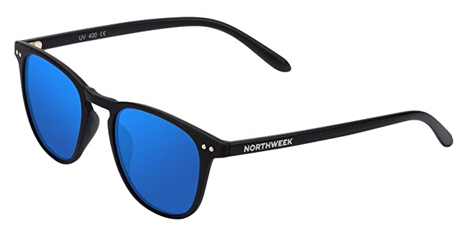 foto ufficiali 270a8 7d337 Occhiali da sole Northweek WALL tutto nero | lente blu polarizzata