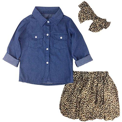 Denim Skirt Set - 5
