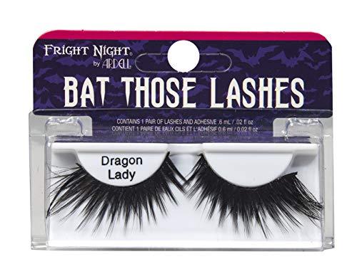 Halloween Bat Make Up (Fright Night Bat Those Lashes - Dragon Lady - Halloween and Costume)