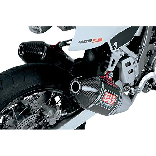 Yoshimura 00-19 Suzuki DRZ400S RS-4 Signature Series Full System Exhaust - Dual (Race/Carbon Fiber with Carbon Fiber End Cap)