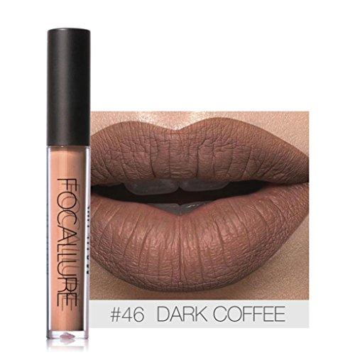 Waterproof 6 Colors Matte Lipstick Gloss Set - 5
