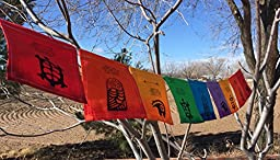 Turtle, Owl, Bear, \'Spirit Animals\' Prayer Flag . All proceeds to families in Mexico.