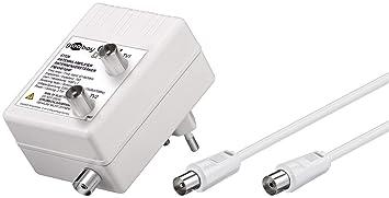 Wentronic 67226 - Amplificador de antena (3 W, 230 V, 50 Hz)