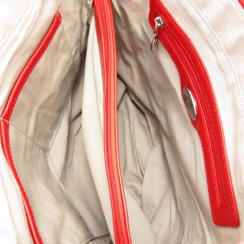 Sacco Borsa Di Contanti Fucsia Multicolore Rosso.