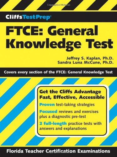 CliffsTestPrep FTCE: General Knowledge Test