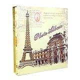 Wall Mounted Rope Shop Retro Interstitial Photo Album | Memorial Album Can Store 400 Photos 6X4 31.8X35X5.8cm