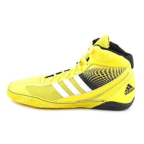 Adidas Wrestling Mens Response 3.1 Wrestling Shoe Bright Yellow/Silver/Black 13qKSdUAs