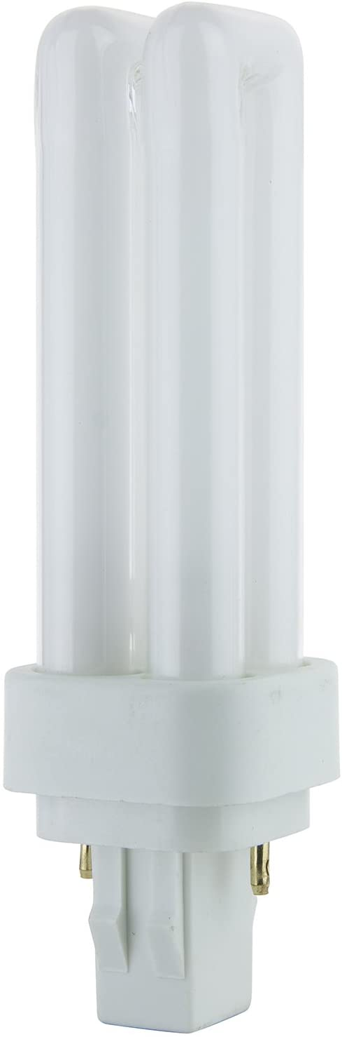 Sunlite PLD13/SP65K 13-Watt Compact Fluorescent Plug-In 2-Pin Light Bulb, 6500K Color