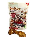 """BARKYS 4 Huesos de Carnaza 6-7"""" Health + Omega, Sabor Pollo, Pollo, 1 Pack"""