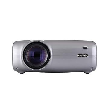 Pico proyector portátil, 2600 lúmenes apoyan 1080PLCD proyector de ...