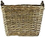 ZENTIQUE French Market Woven Basket, Medium