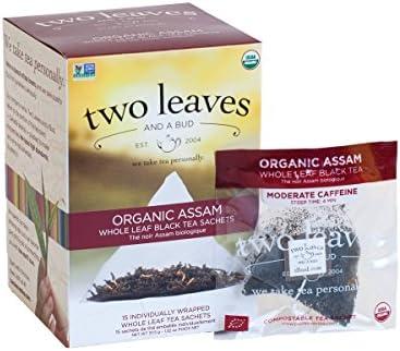 Dos hojas y una bud orgánico de Assam té de desayuno – -15 ...
