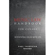 Music Law Handbook for Canada