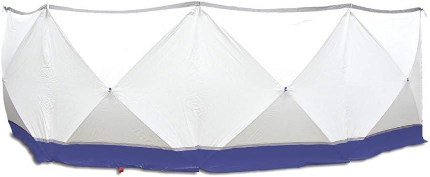 TROTEC Mampara protectora 4*180*180 blanco y azul: Amazon.es: Jardín