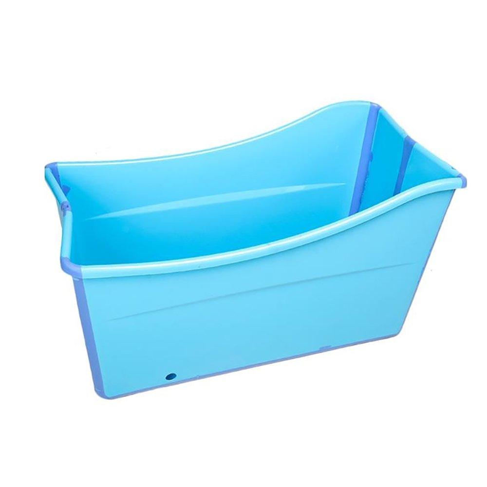 SYF バスタブ カバープラスチックバスタブ折りたたみバケツ大人子供バスタブ肥厚赤ちゃん風呂樽で絶縁スリーブバスタブ97×49×57センチ A+ (色 : A)  A B07PKSKQ4Z