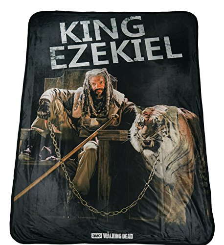 Rabbit Tanaka The Walking Dead King Ezekiel Soft Fleece for sale  Delivered anywhere in USA
