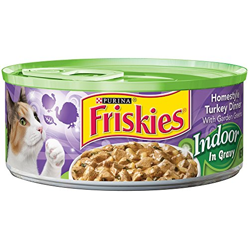 Friskies Selects Indoor Homestyle Turkey Dinner with Brown R