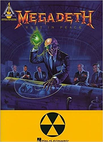 Book RUST IN PEACE WITH TABLATURE by Megadeth (1994-10-01)