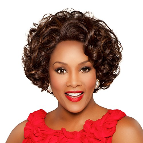 Vivica A. Fox JADORE-V New Futura Fiber, Deep Lace Front Wig in Color GM432 -