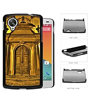 Chateau Gold Castle Door Hard Plastic Snap On Cell Phone Case LG Nexus 5