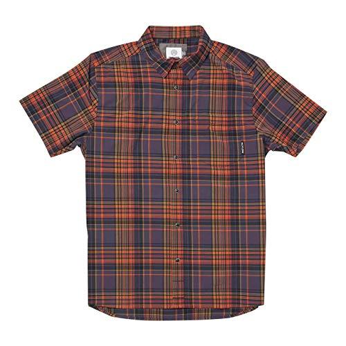 Flylow Anderson Shirt - Men's Shadow Plaid, M