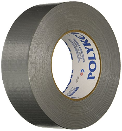Polyken 203SILVER Economy Grade Duct Tape, 180-Feet by 2-Inch, -