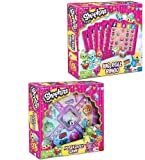 Shopkins Board Game Bundle ~ Big Roll Bingo and Pop and Race Scrabble