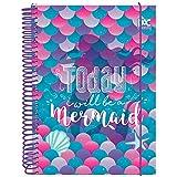 Caderno, DAC, Caderno Trendy Sereia 10 Materias 160Folhas 2701, Multicor
