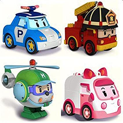 Amazon Com Nicky S Gift Animation Cartoon Robocar Poli