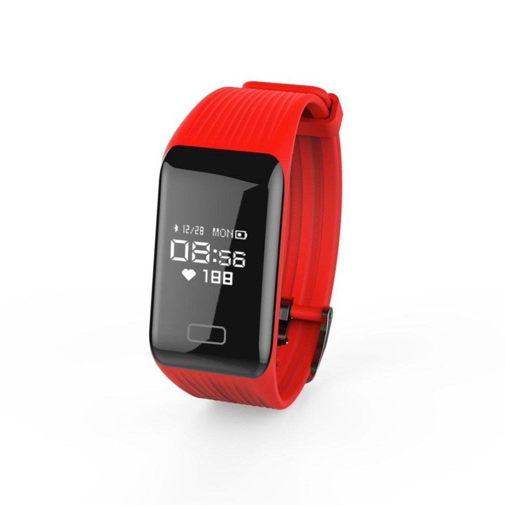 wawer Y1 Fitness Tensiómetro Pulsómetro De Oxígeno Smart Watch brazalete muñeca Longitud 248 * 24 * 11 mm GreenInks Sistema [Andrews/IOS] Bluetooth: ...