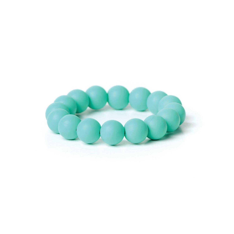 【最安値挑戦!】 Nixi Tondo Teething Bracelet, Bracelet, Turquoise Turquoise by Teething Bumkins B00EZM7D5E, 岩木町:570c04fb --- a0267596.xsph.ru