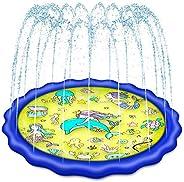 "Sprinkler for Kids, Premium 68"" Toddler Outdoor Toys, Baby Pool Water Toys for Kids Outdoor, Toys for 1 2"