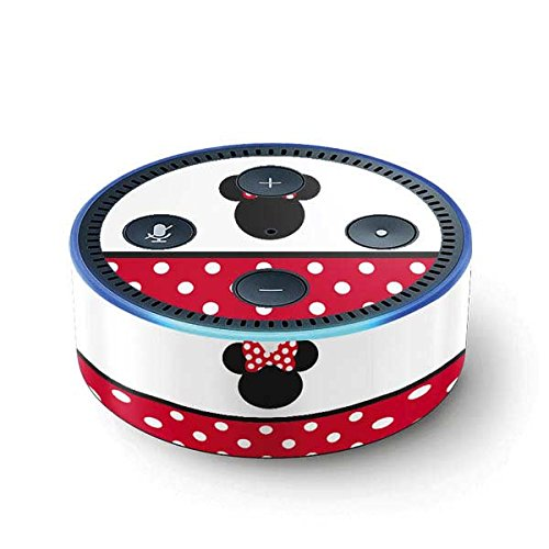 Minnie Mouse Echo Dot (2nd Gen, 2016) Skin - Minnie Mouse Symbol Vinyl Decal Skin For Your Echo Dot (2nd Gen, 2016)