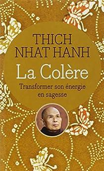 La Colère : Transformer son énergie en sagesse par Hanh